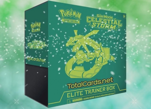 Sun and Moon - Celestial Storm Elite Trainer Box