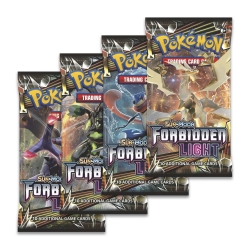Pokémon Sun and Moon - Forbidden Light Boosters