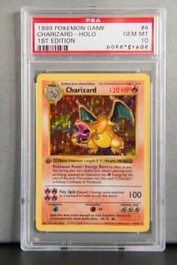 Charizard First Edition