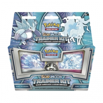 Pokémon Sun and Moon Trainer Kit - Alolan Sandslash and Alolan Ninetales