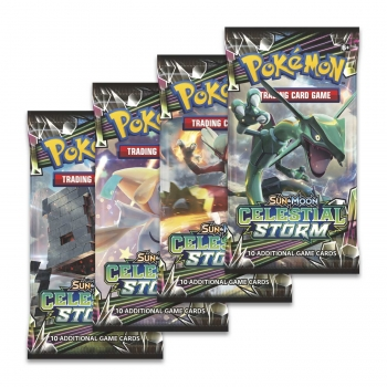 Pokémon Sun and Moon - Celestial Storm Boosters