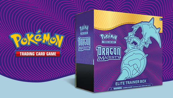 Elite trainer box Dragon Majesty Pokemon