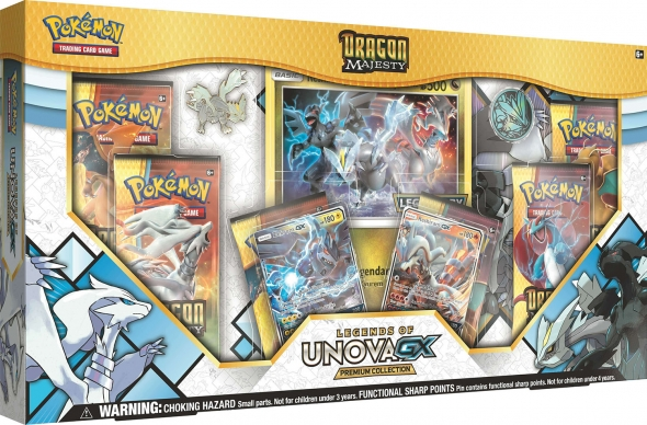 Pokémon Dragon Majesty Legends of Unova GX Collection - USA verze
