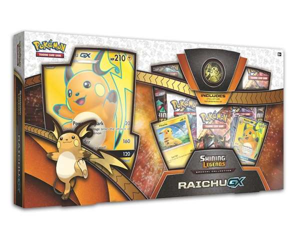 Pokémon Shining Legends Special Collection - Raichu-GX