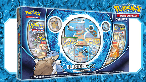Pokémon Blastoise-GX Premium Collection Box