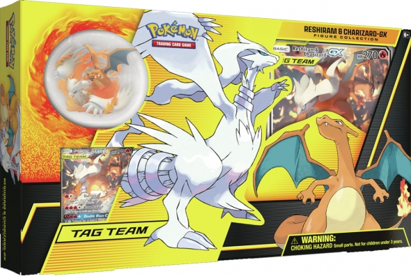 Pokémon Reshiram & Charizard GX - Figure Collection Box