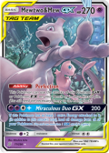 Unified Minds Mew & Mewtwo-GX