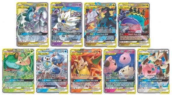 Pokémon Cosmic Eclipse - Tag Team Pokémoni GX