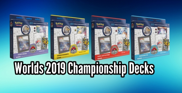 Pokémon Worlds 2019 Championship Decks
