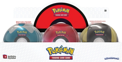 Pokémon - Nové Poke Ball Tins