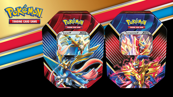 Pokémon Legend of Galar Tins - představení EU produktu