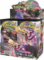 Pokémon TCG Rebel Clash Booster box