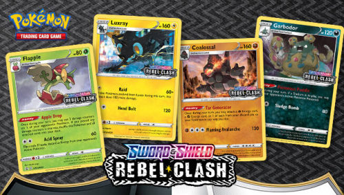 Pokémon TCG Rebel Clash Prerelease proma