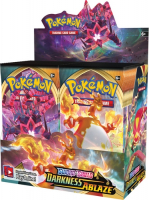 Pokémon TCG Darkness Ablaze Booster Box display 36 boosterů