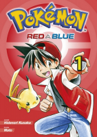 Pokémon Red a Blue manga komiks CZ