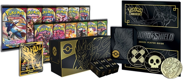 Pokémon TCG Sword & Shield Elite Trainer Box Plus 4