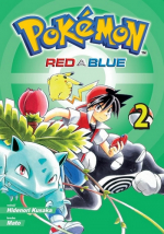 Pokémon Red a Blue manga komiks CZ 2